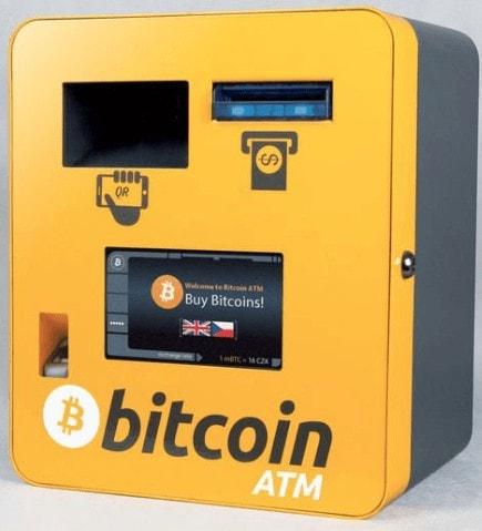 distributeur de bitcoins