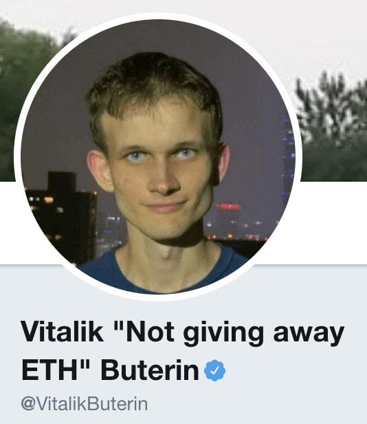 vitalik not giving away ethereum