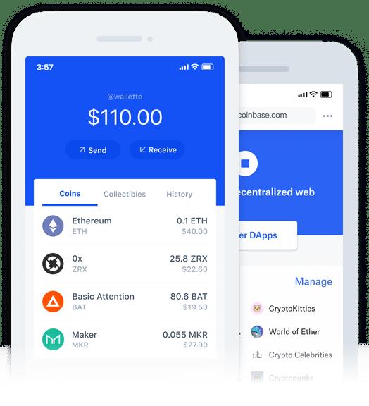 Application Coinbase Mobile