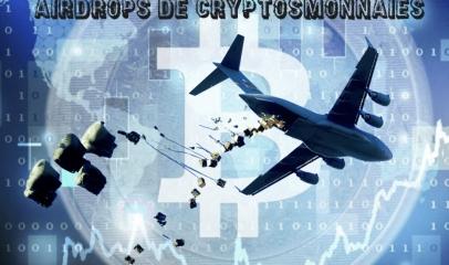 Airdrops de cryptomonnaies