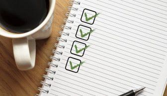 Check-List permettant de déterminer vos objectifs d'investissement