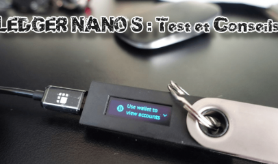Test du Portefeuille Ledger Nano S